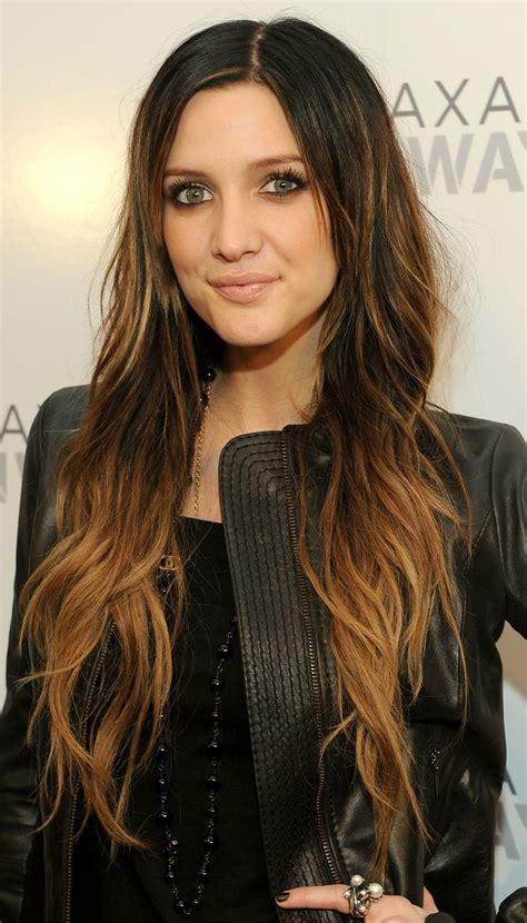 Long Wavy Brown Ombre Hairstyle For Women 2014 Pretty