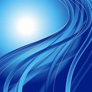 Abstract Blue Waves Vector Illustration | Free Vector ...