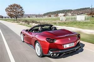 Nouvelle Ferrari Portofino : ferrari portofino 2018 essai vid o sport auto ~ Medecine-chirurgie-esthetiques.com Avis de Voitures