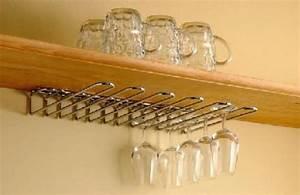 Support Verre à Vin : porte verres double fixation chrome 2b7 cuisinesr ngementsbains ~ Teatrodelosmanantiales.com Idées de Décoration