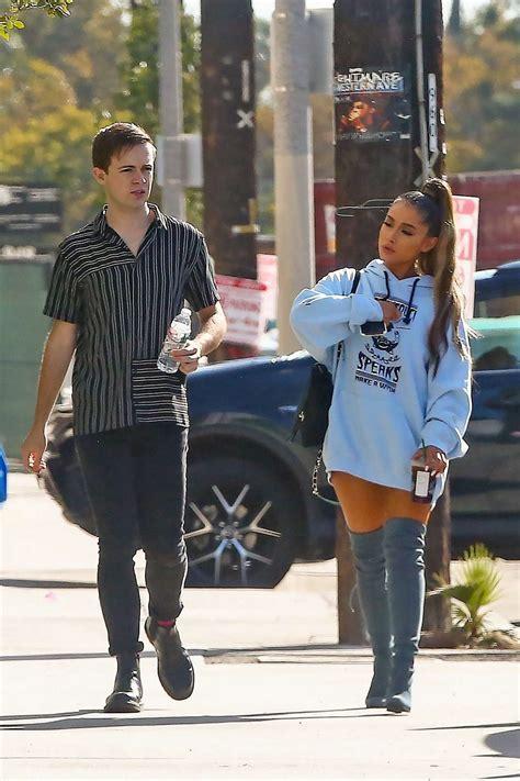 Ariana Grande Arrives At A Music Studio 07 Gotceleb