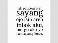 Kata Mutiara Lucu Bahasa Jawa Ktawaayo