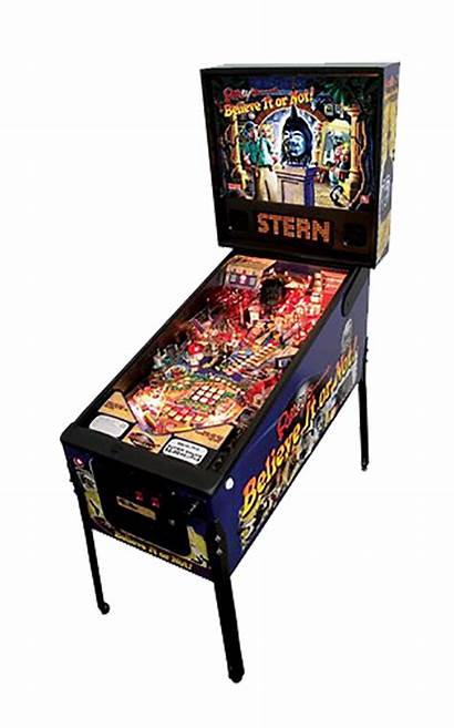 Pinball Believe Ripley Stern Arcade Machine Games