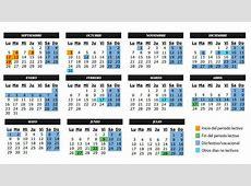 Calendario Escolar curso 2018 En Madrid CursosMasters