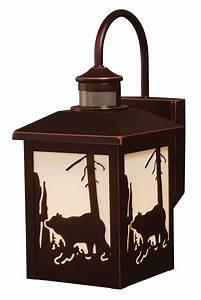 Rustic, Cabin, Outdoor, Lighting