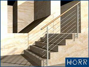 Geländer Für Treppe : 1m edelstahl gel nder treppe wange rundstab holz buche handlauf f r innen ~ Markanthonyermac.com Haus und Dekorationen