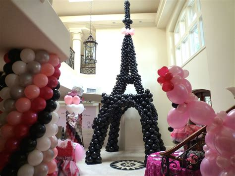 pink poodle in paris theme birthday decoration dreamark events youtube