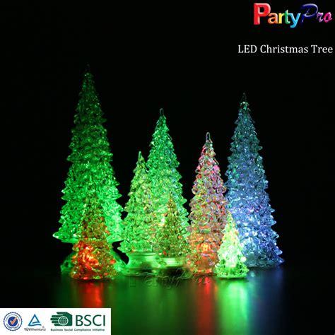 wholesale various sizes colorful christmas tree led