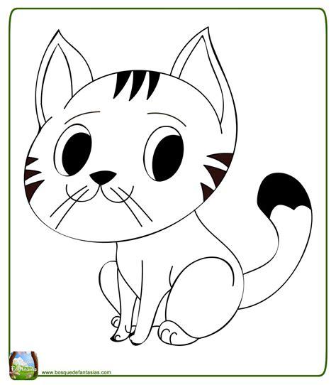 dibujos  colorear de gatitos bebes dibujos  colorear