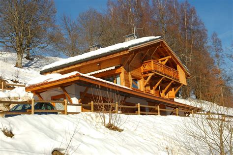 chalet silene location d un chalet cordon descriptif location d un chalet vue mont blanc cordon