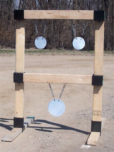 hanging target stand custom steel targets