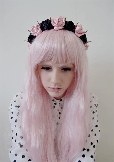 pastel pink wigs hairturners
