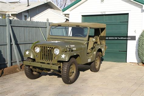 willys army jeep 1955 willys military jeep m38a1