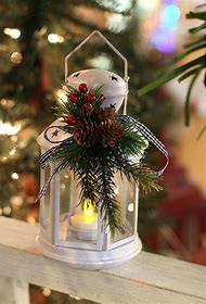 pinterest lantern christmas decorations