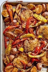 Recipe: Sheet Pan Chicken Souvlaki | Kitchn