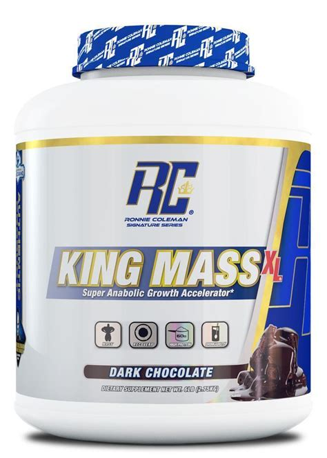 ronnie coleman king mass xl protein weight gainer ronnie coleman signature series