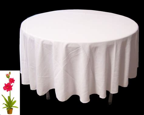 36 Quot Inch Round Polyester Tablecloth Table Cover Cloth