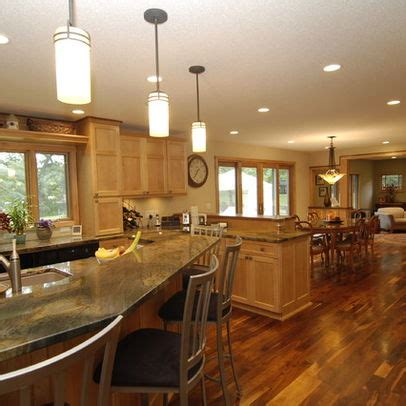 kitchen cabinets used walnut floors with light oak cabinets search 3282