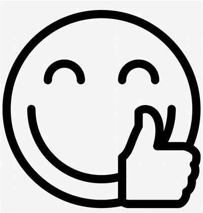 Coloring Smile Printable Emojis Emoji Clipart Face