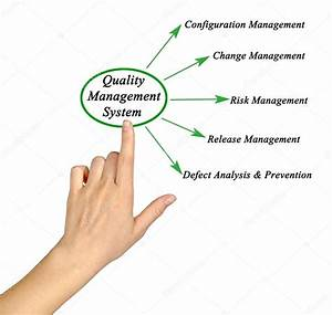 Diagram Av Kvalitetsledningssystem  U2014 Stockfotografi
