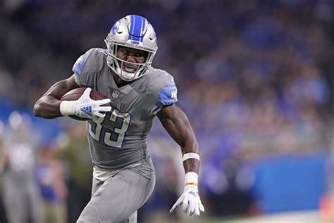 detroit lions  time  shut  kerryon johnson