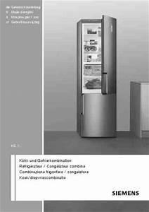 Kg 36 Vvl 32 : siemens kg36vvl30k hlschrank kombination handbuch in deutsch herunterladen 4d ~ Bigdaddyawards.com Haus und Dekorationen