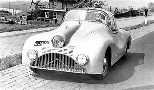 Gatso Streamliner Built On A Ford Flathead V