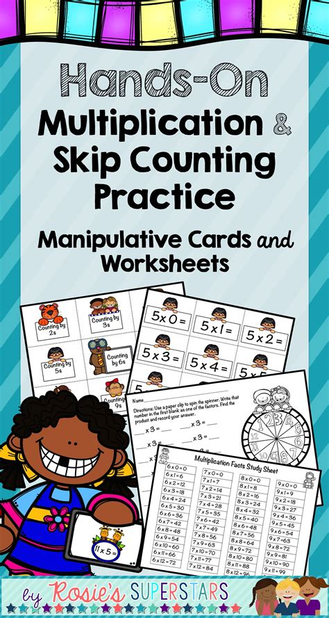hands  multiplication  skip counting manipulative