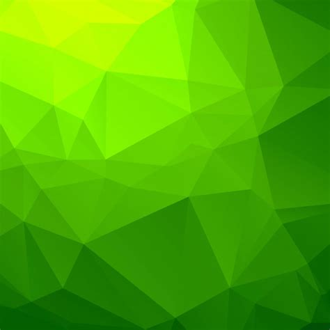 green polygons abstract background vectors   psd