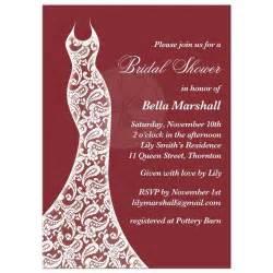 response card wording bridal shower wedding shower invitation card