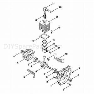 Stihl Fs 66 Brushcutter  Fs66  Parts Diagram  A
