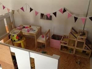 Hochbett Zwei Kinder : kinderzimmer f r zwei kinder mit eigenem spielbereich ~ Lizthompson.info Haus und Dekorationen