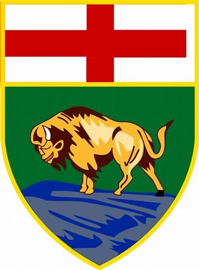 Manitoba Emblem Canada Provincial Clip Justice Court