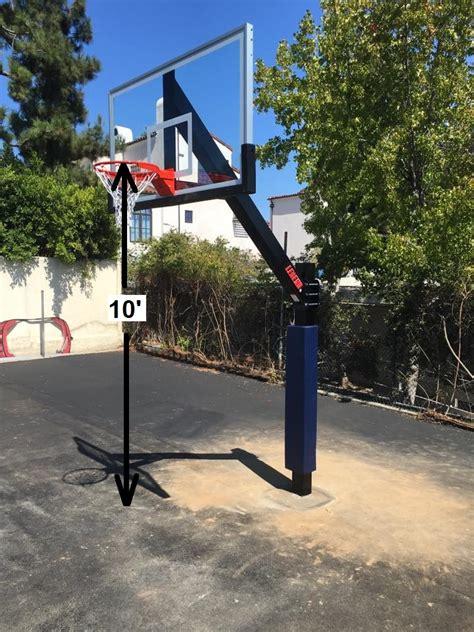 easily measure basketball hoop height  team