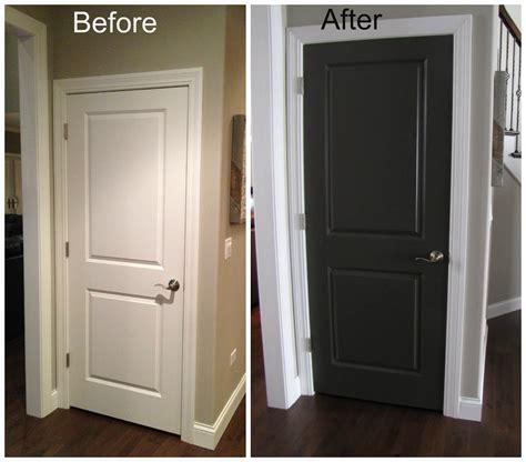 black interior doors    door