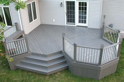 Trex Decking Home Depot Canada by Composite Decking The Home Depot Canada