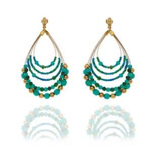 hoop earing look east australia jewellery designer clip earrings at