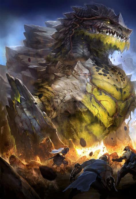 artstation earth dragon chris de joya