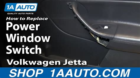 service manual   remove electric window