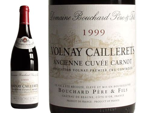 chambrer un vin volnay premier cru 39 39 caillerets 39 39 1999 volnay vin