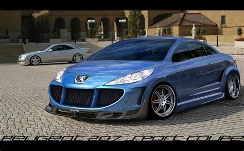 peugeot  sport coupe tuning peugeot photo