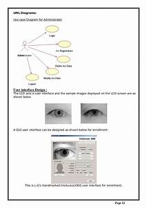Embedded System Design For Iris Recognition System