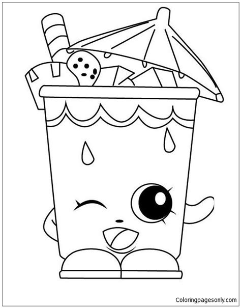 Sheet Work Shopkins Coloring Page Free Coloring Pages Online