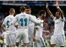 Real Madrid Squad Roster Players 20182019 1819 Name