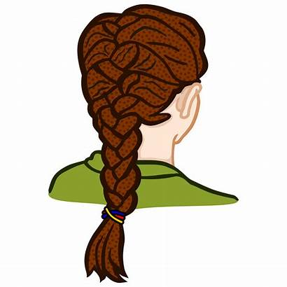 Braid Clipart Zopf Braided Hair Clip French