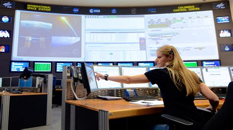 Columbus Control Center - Europe's link to the ISS