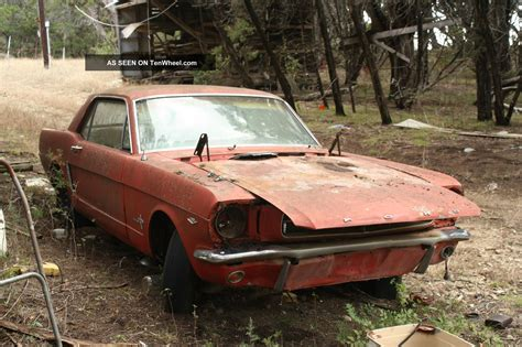 1965 Ford Mustang For Restoration