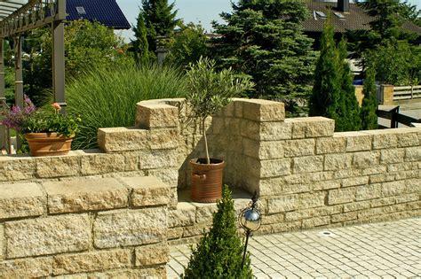 Steine Für Mauer Im Garten by Mauern Und Z 228 Une Bruckmeier Garten Und Landschaftsbau