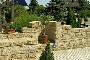 Garten Mauern Steine : mauern und z une bruckmeier garten und landschaftsbau ~ Markanthonyermac.com Haus und Dekorationen