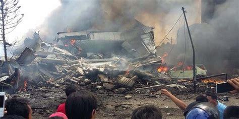 Aborsi Medan Begini Situasi Di Lokasi Jatuhnya Pesawat Hercules Di